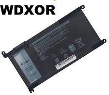 Battery WDXOR for Dell Inspiron 14 5368 5378 7368 7378 7460 5567 5578 15 7560