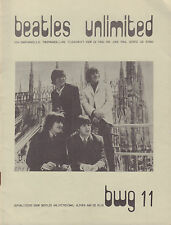 BEATLES UNLIMITED BWG 1978 nr. 11 - DUTCH MAGAZINE FOR FANS