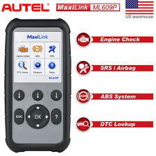 Autel ML609P Car Didgnostic Tool OBD2 Code Reader Scanner ABS SRS Airbag AL619