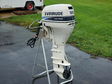 NICE! 1998 Evinrude E10FRELECM 9.9HP Electric Start 4 Stroke Long Shaft Outboard