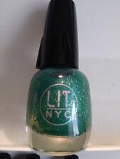 Lit NYC Nail Lacquer Polish Enamel Manicure Pedicure Multi Variety Color W Light 155 Envious