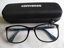 Converse 33 blue glasses frames. With case.