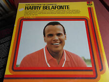 HARRY BELAFONTE: PURE GOLD FROM THE CARIBBEAN: VINYL LP: RCA