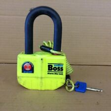 OXFORD BOSS PADLOCK & KEY  LARGE