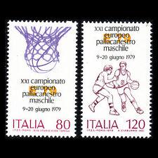 Italy 1979 - European Basketball Championship Sports - Sc 1373/4 MNH