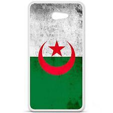 Coque Housse en Silicone France Sony Ericsson Xperia M2 - Drapeau algérie
