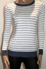 JEANSWEST Brand Francine Long Sleeve Stripe Pullover Top Size XXS BNWT #TQ95