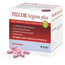 TELCOR Arginin plus Filmtabletten 240 St PZN: 3104757