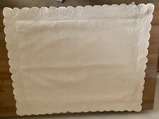Peacock Alley Vienna Quilted Matelasse 100% Cotton Standard Sham $100 if new