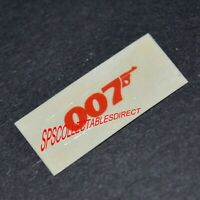 James Bond 007 Corgi 269 Lotus Esprit Peel-Off Sticker The Spy Who Loved Me