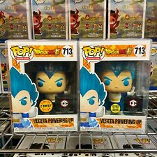"Funko Pop Dragon Ball Super : Vegeta Powrning up #713 Common + Chase ""MINT"""