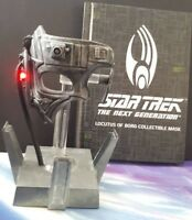 Star Trek: Locutus of Borg Die-Cast Collectible Mask: With Light and Sound!