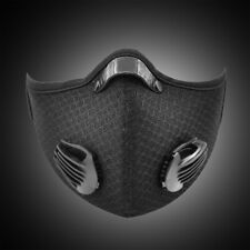 Air Purifying Face Cover Mouth Shield Washable Dustproof Cycling Riding Outdoor