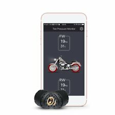 Motorcycle Bluetooth Tire Pressure Monitoring System TPMS Mobile Phone Detection