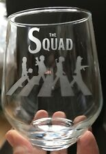 Personalised Wine Glass  - PUBG Squad - Stemless, Stemmed ***SEE DESCRIPTION***