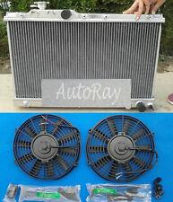 For Toyota Celica ST205 3S-GTE GT4 1994-1999 All Aluminum Radiator + 2 Fans