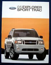 Prospekt brochure 2005 Ford Explorer Sport Trac (USA)