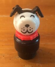 Vintage Fisher Price Little People Lucky The Dog Figure