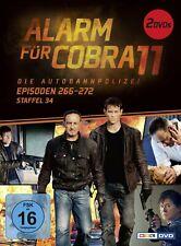 ALARM FÜR COBRA 11 STAFFEL 34 2 DVD NEW