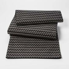 PROJECT 62 Target Black Zigzag Table Runner, Black