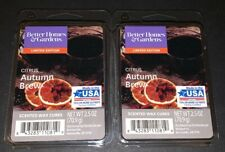 Better Homes & Gardens Scented Wax Cubes COTRUS AUTUMN BREW/ 2 Packs