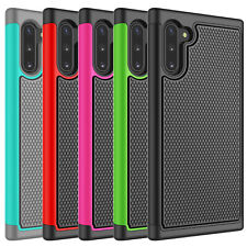 For Samsung Galaxy S7/S8/S9/S10 Plus Note 9 /10 Plus Silicone Case Hybrid Cover