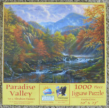 Paradise Valley 1000 Piece Jigsaw Puzzle Abraham Hunter Sunsout New