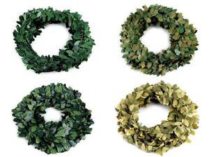 7m Buchsgirlande Draht Buchsbaum Girlande Buxus Hochzeit Blättergirlande grün