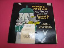 BARBAR'S MYSTERY 1978  CHIDREN'S ALBUM READ BY  LAURENT DE BRUNHOFF TC1583