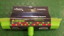 rubber extending broom ideal for pet hair or hairdressers