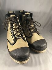 Redhead Fly Fishing/Wading Felt Bottom Canvas Boots Tan Size 7