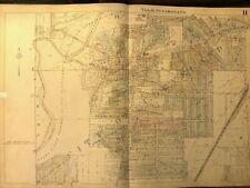 New ListingOriginal 1927 Map Rocky River Cleveland Ohio Cleveland Metroparks