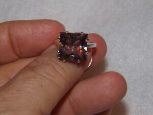 Ametrine, Sterling Silver Ring Size 7