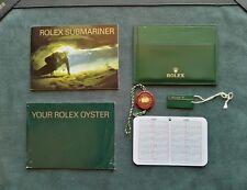 ACCESSORI BOOKLET ROLEX SUB MARINER ANNO 2005 ENG