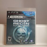 Tom Clancy's Ghost Recon: Future Soldier ( PS3 Playstation 3 Sony ) TESTED.