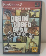 """GRAND THEFT AUTO SAN ANDREAS PlayStation2 """"Greatest Hits"""" edition-"""
