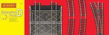 Hornby Pressed Steel Analogue OO Gauge Model Railway Tracks