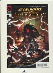 Star Wars The Old Republic #5! Blood of the Empire Comic Part 2! RARE WOW!