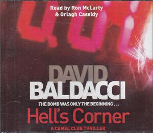 David Baldacci Hell's Corner 6CD Audio Book Abridged Camel Club 5 Thriller