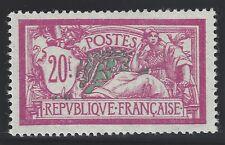 n°208 Merson 20fr lilas-rose et vert-bleu Neuf* TB/Centrage - Signé Calves