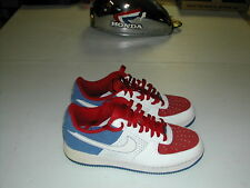 NIKE AIR FORCE ONE AF1 SHOES MEN'S SIZE 10.5 RED WHITE AND BLUE 315122-113