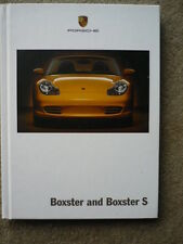 Porsche Boxster Prestige Tapa Dura folleto 2004 mi Jm
