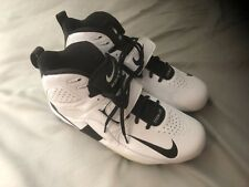 NIKE Air Zoom Boss Destroyer Turf Football Cleats White/Black Size 12 brand new