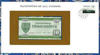 Banknotes of All Nations Faroe Islands 10 Kroner P16 1974 UNC serie A0743D