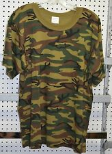 New t-shirt woodland camo size xx-large ( refbox#68 )