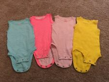 Carters Infant Girls Blue Pink Purple Yellow Lace Outfit Lot 3 Months