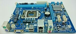 GIGABYTE GA-H61M-S1 , Sockel (LGA)1155/ H2, Intel H61, Rev. 2.1, I/O Shield