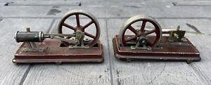 2 X Vintage Bing?  Cylinder and Flywheel Assy