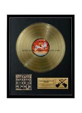 "RGM1028 Led Zeppelin Physical Graffiti Gold Disc 24K Plated LP 12"""