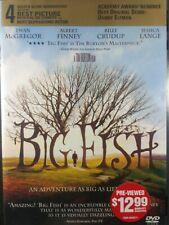 Big Fish (Dvd, 2004) Blockbuster Case Free Shipping